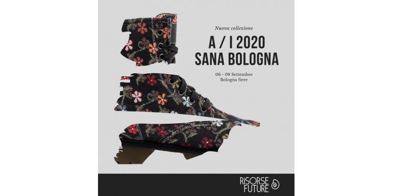 Nuova collezione Autunno Inverno 2020 in anteprima al SANA di Bologna 6-9 Settembre