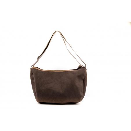 Mezzaluna Bag  Hazelnut