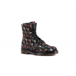 Mr. Vegan Little Flowers Black