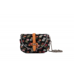 Rosy Bag Little Flowers Black
